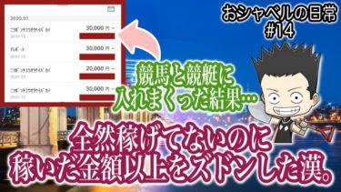 【#14】おシャベルの日常ブログ1月13日〜全然稼げてないのに稼いだ金額以上をそのままズドン〜